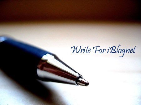 Write for iBlognet